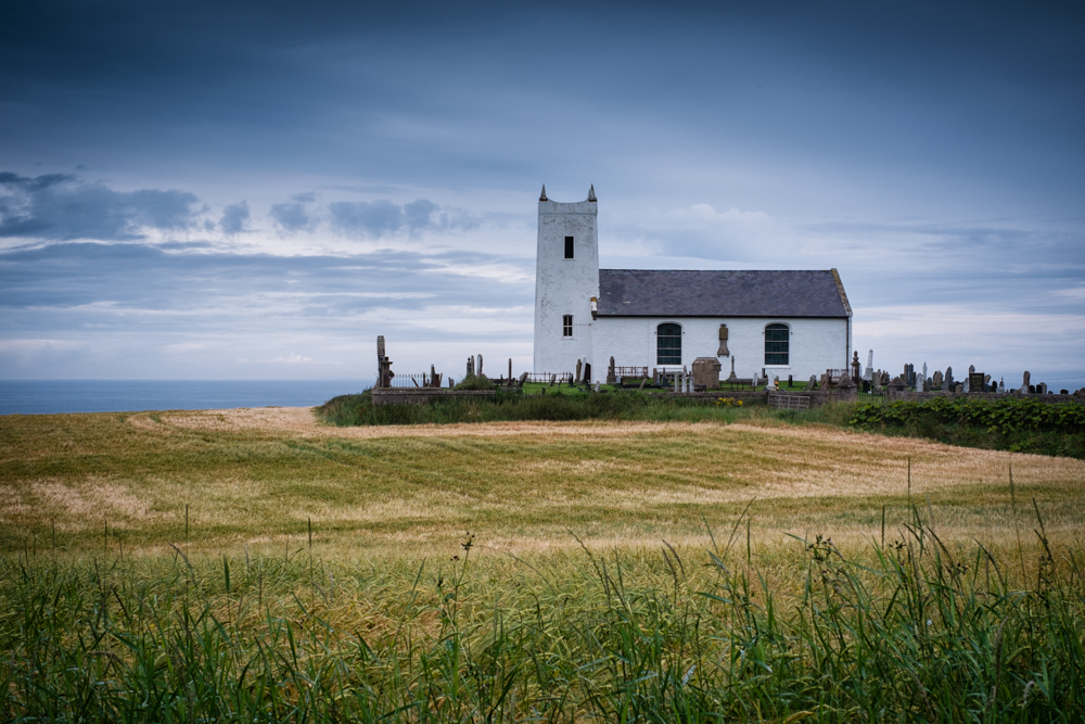 Ballintoy Parish Church Northern Ireland Landscape Calendar-